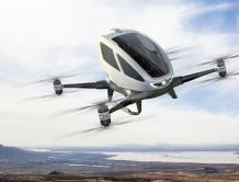 亿航CEO:EHang 184载人无人机顺利完成多项测试