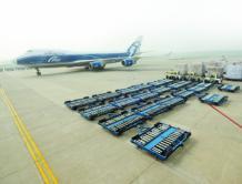郑州航空港区发展繁荣 郑州机场货运量跃居全国第8