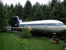 美国男子花22万美金将波音727飞机改造成豪宅