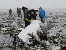 迪拜航空客机在俄罗斯坠毁 62人遇难 事故原因3种可能
