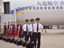 大连航空获准开国际航线 欲成大连至日韩航线第一承运人