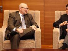 GE航空全球总裁兼首席执行官大卫·乔伊斯访问中国商飞