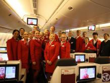奥地利航空开通上海--维也纳航线 波音777飞机执飞