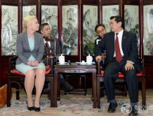 中国民航局局长冯正霖会见瑞典基础设施大臣安娜·尤汉松