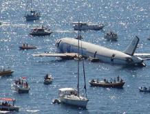 土耳其把一架空客A300客机沉入大海 目的吸引旅游