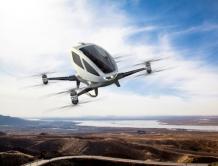 中国产全球首款载客无人机将在美国测试