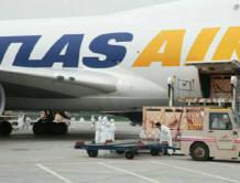 """中国首批澳大利亚""""和牛""""乘专机抵达郑州机场"""