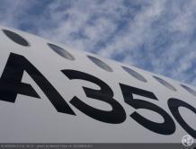 世界最新远程宽体飞机空客A350XWB将来中国巡演