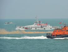 民航与海事部门举办航空器海上搜救及调查联合演练