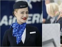 塞尔维亚航空空姐和工作人员都是高颜值