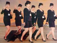 朝鲜空姐首次登上月历 或意在发展旅游创汇
