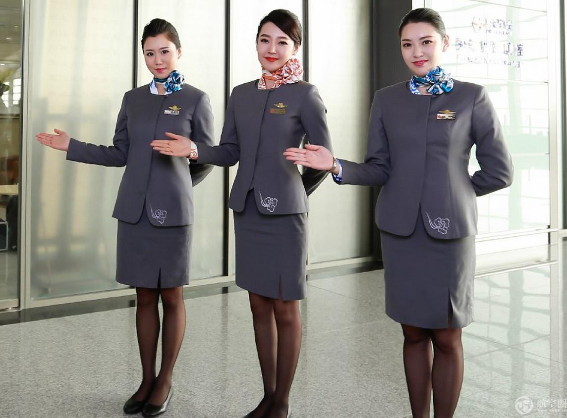 空姐服装简笔画