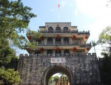中国南疆国门友谊关举行升国旗仪式