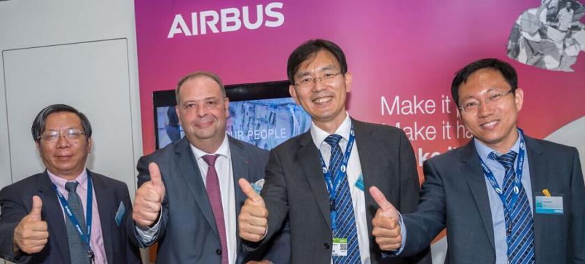清华大学加入空中客车全球大学伙伴计划