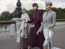 海南航空第五代新制服亮相巴黎高定秀