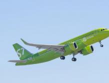 俄罗斯西伯利亚航空接收其首架空客A320neo飞机