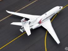 麗翔公务航空即将迎接大中华区首架达索 8X