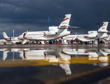 达索亮相2017年Jet Expo 并展示猎鹰8X与900LX三引擎公务机