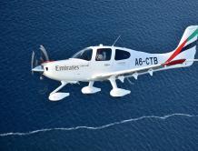 阿联酋航空飞行培训学院接收首批训练机