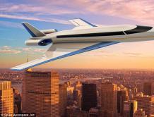 """超音速飞机""""协和机之子""""首飞 比一般客机快一半"""