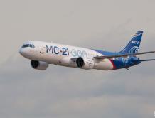 俄罗斯MC-21客机首次完成远程飞行 6小时飞4500公里