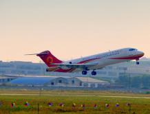 ARJ21-700飞机108架机完成首飞