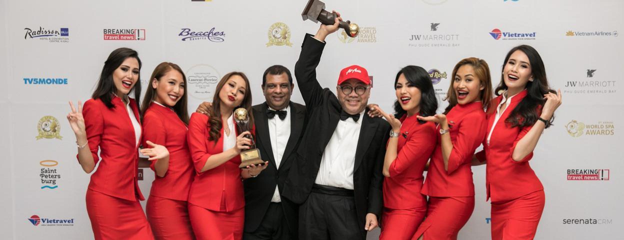 亚洲航空于2017 世界旅游大奖总决赛斩获两项大奖