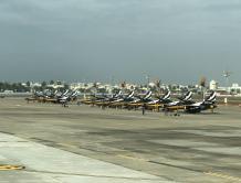 韩国黑鹰飞行队赴新加坡航展停台湾加油 美国曾阻其访中国