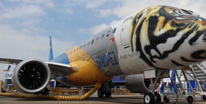 巴航工业预测:亚太150座级下新飞机20年将交付3010架