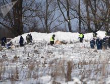 俄罗斯安-148坠机现场搜索结束 找到5000个飞机残骸