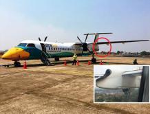 泰国飞鸟航空一架客机因发动机起火紧急降落