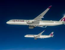 空中客车向卡塔尔航空交付全球首架A350-1000飞机