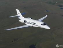 奖状680A纬度全球交付量荣膺榜首 持续领跑中型商务机市场