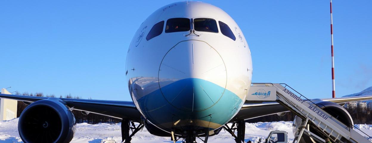美国洛杉矶飞中国大飞机因乘客发病紧急降落俄罗斯小机场