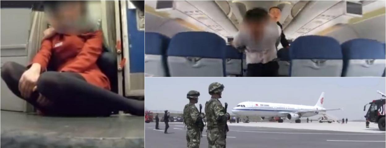 国航空姐被劫持解救现场画面曝光 武警特警同时出手解救