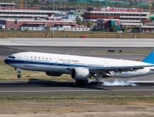 中国民航第一架波音777客机退役 同型号全球88架