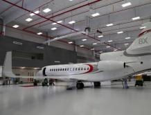 香港麗翔迎来亚洲第二架达索猎鹰8X及全新环球6000公务机