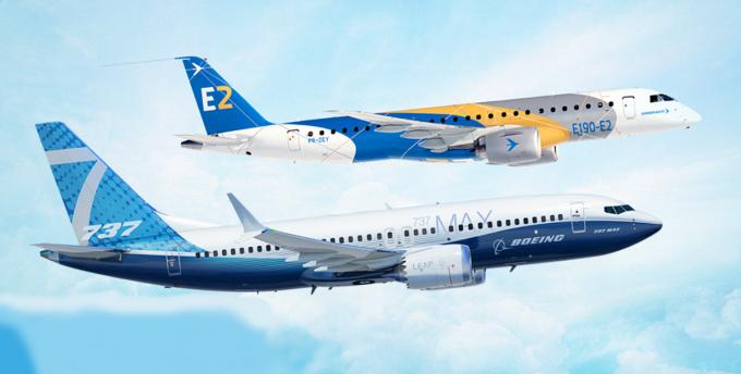 波音与巴航工业将建立航空航天业战略合作伙伴关系