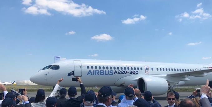加拿大生产的飞机加入空中客车家族 空客A220飞机诞生