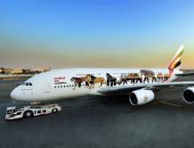 阿联酋航空运营空中巨无霸A380十周年 A380超过百架