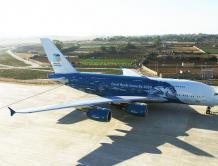 一家小航空公司开始运营世界最大客机A380 可包机出租