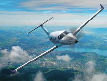 全尺寸赛斯纳迪纳利实体模型亮相EAA飞来者大会