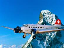 瑞士一架观光飞机坠毁 1939年制造 机龄近80年