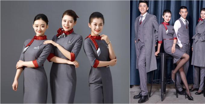 红土航空第五架飞机投入运营 全新乘务制服发布
