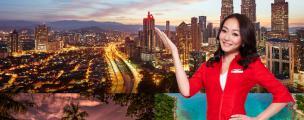 亚洲航空即将开通天津-吉隆坡直飞航线