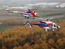 米-171A2与安萨特直升机参加中国航展并进行东南亚巡展