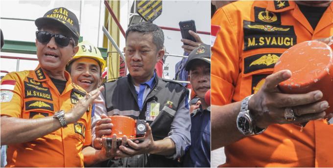 印尼客机坠海事件:黑匣子已经打捞出水
