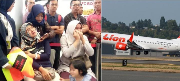 印尼狮航一架波音737客机起飞不久坠海 机上189人