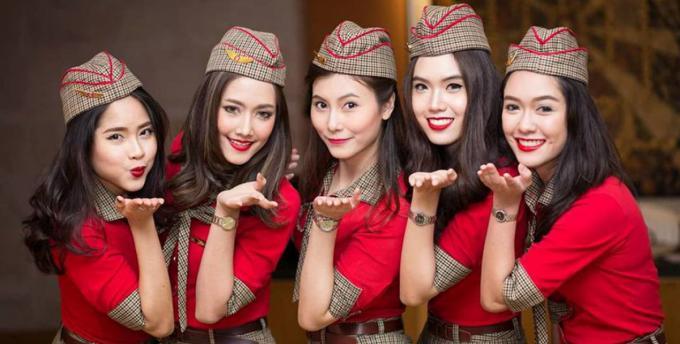 """""""比基尼航空""""越捷航空宣布到台湾招聘空姐 预计招50人"""