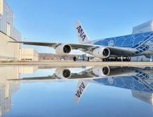 全日空首架A380完成特别涂装 2019年首季交付